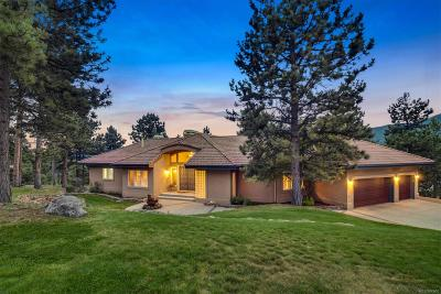 Conifer, Evergreen Single Family Home Under Contract: 30442 Heavenly Court