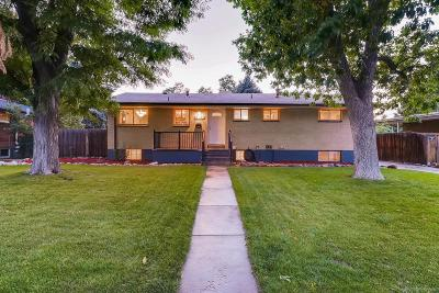 Littleton Single Family Home Under Contract: 6165 South Valleyview Street