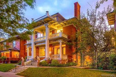 Denver Single Family Home Active: 1471 North High Street