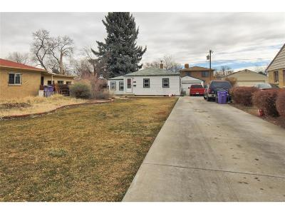 Denver Single Family Home Under Contract: 1260 South Dale Court