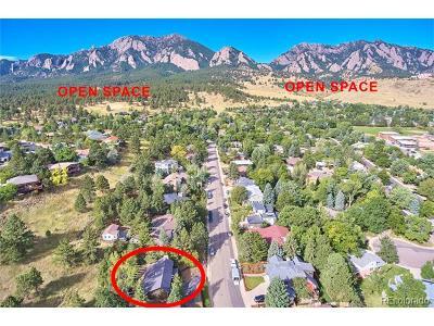 Boulder Single Family Home Active: 2750 Juilliard Street