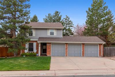 Centennial CO Single Family Home Under Contract: $529,900