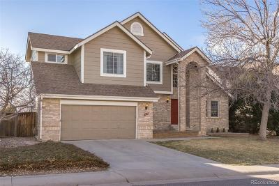 Highlands Ranch Single Family Home Under Contract: 9655 Promenade Place