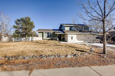 Arvada Single Family Home Active: 7760 Nelson Street