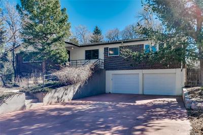 Colorado Springs Single Family Home Under Contract: 2201 Hercules Drive