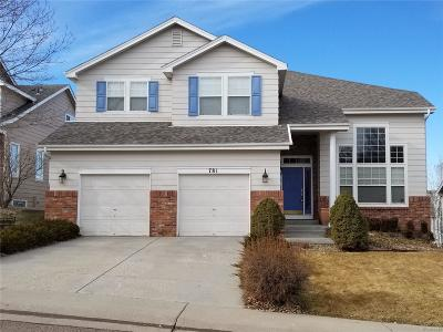 Castle Pines Single Family Home Active: 781 Deer Clover Circle