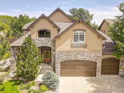Castle Pines Single Family Home Active: 7108 Forest Ridge Circle