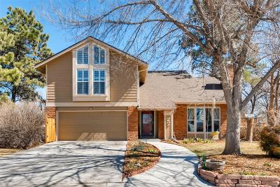 Centennial Single Family Home Active: 8581 East Dry Creek Place