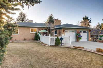Wheat Ridge Single Family Home Under Contract: 4075 Carr Street