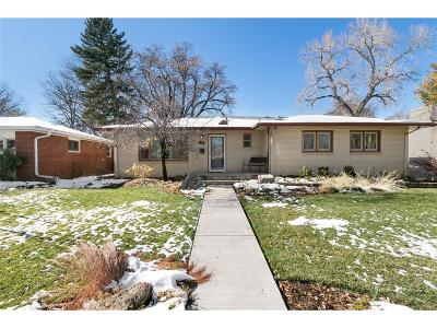 Longmont Single Family Home Under Contract: 823 Lincoln Street