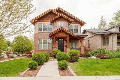 Denver Single Family Home Active: 970 Madison Street