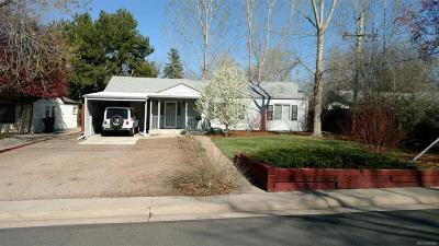Single Family Home Active: 2876 South Dahlia Street