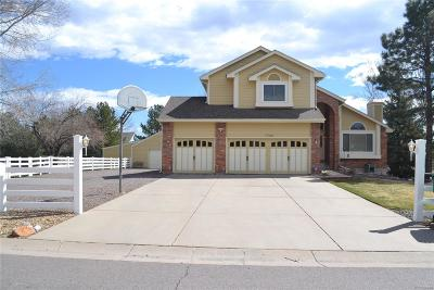 Arvada Single Family Home Active: 7702 Noble Street