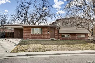 Arvada Single Family Home Active: 6215 Harlan Street