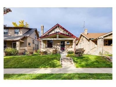 Denver Single Family Home Active: 2727 Josephine Street