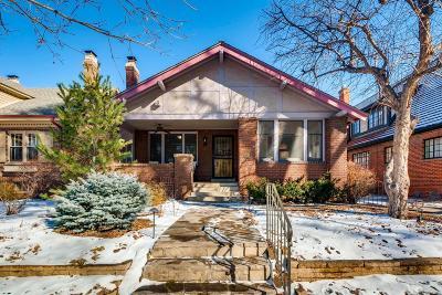 Denver Single Family Home Active: 730 Cook Street
