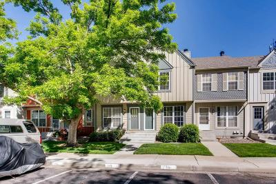 Lakewood Condo/Townhouse Under Contract: 9743 West Cornell Place