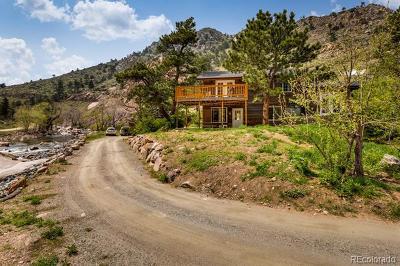 Lyons Single Family Home Active: 512 Longmont Dam Road