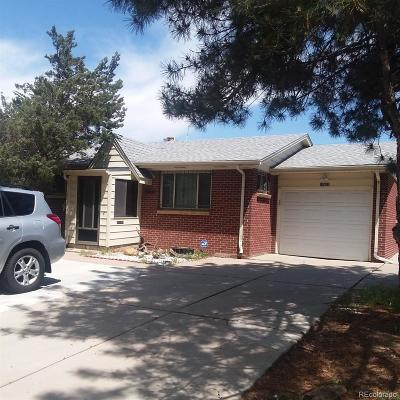 Aurora Single Family Home Under Contract: 12657 East Nevada Avenue