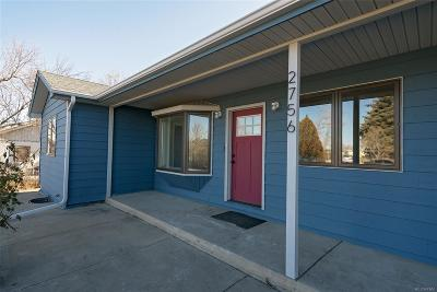 Denver Single Family Home Active: 2756 West Wesley Avenue
