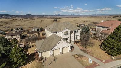 Castle Rock Single Family Home Under Contract: 3469 Soaring Eagle Lane