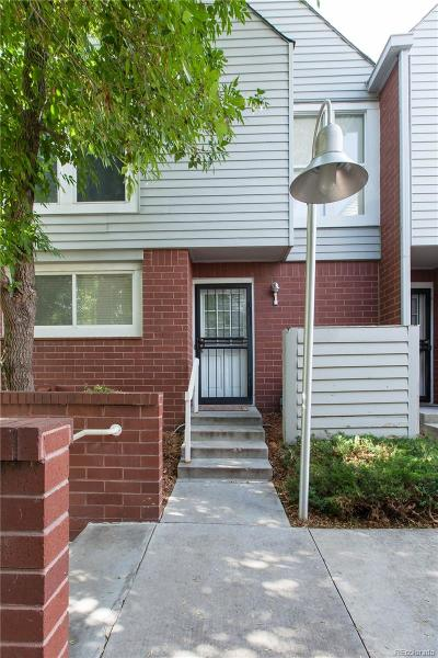 Denver Condo/Townhouse Active: 1035 Jasmine Street #1