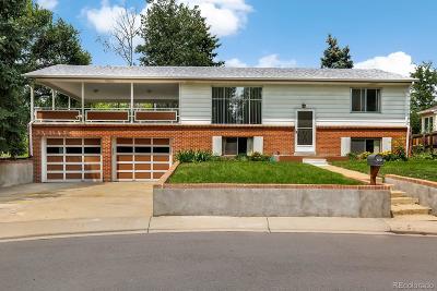 Wheat Ridge Single Family Home Under Contract: 4205 Hoyt Street