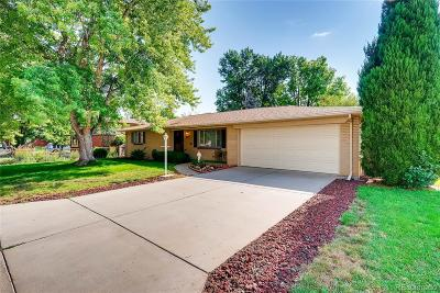 Wheat Ridge Single Family Home Under Contract: 2980 Kendall Street