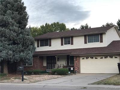 Denver Single Family Home Active: 4506 South Wolff Street