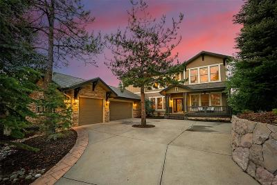 Castle Pines CO Single Family Home Under Contract: $934,900
