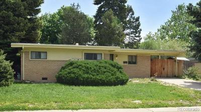 Arvada Single Family Home Active: 6160 Dover Street