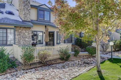 Arvada Condo/Townhouse Under Contract: 8762 Allison Drive #D