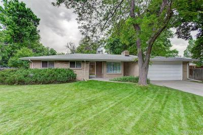 Lakewood Single Family Home Under Contract: 1160 Everett Court