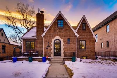 Washington Park Single Family Home Active: 443 South Gaylord Street