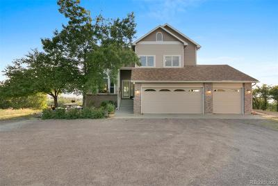 Castle Rock Single Family Home Under Contract: 1653 West Maxine Lane