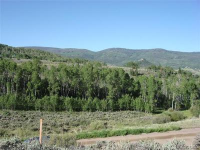 Oak Creek, Phippsburg, Yampa, Toponas Residential Lots & Land Active: 24210 Arapahoe Road