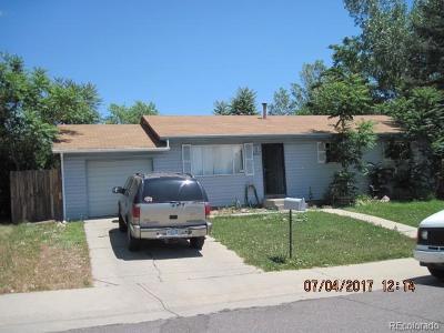 Aurora, Denver Single Family Home Under Contract: 8320 Race Street