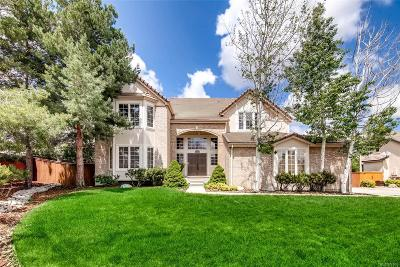 Lone Tree Single Family Home Under Contract: 7707 Edgewater Court