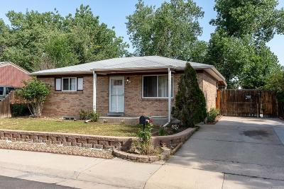 Denver Single Family Home Under Contract: 13071 Olmsted Place