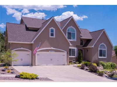 Colorado Springs Single Family Home Under Contract: 13060 Rockbridge Circle