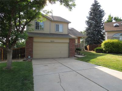 Highlands Ranch Single Family Home Under Contract: 9531 Burlington Lane