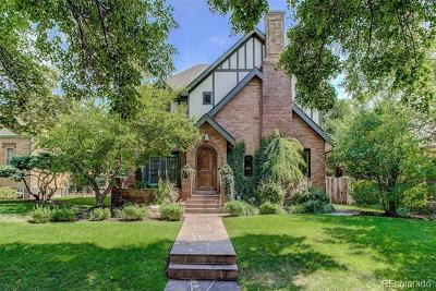 Denver CO Single Family Home Active: $1,565,000