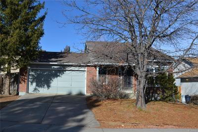 Aurora Single Family Home Under Contract: 4283 South Halifax Way