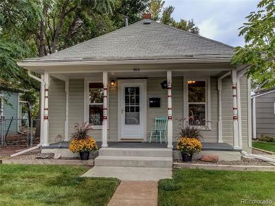 Longmont Single Family Home Active: 909 Emery Street