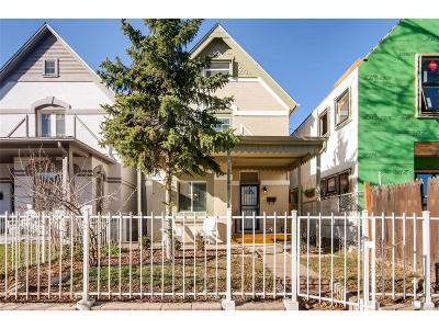 Denver Single Family Home Active: 3245 North Williams Street