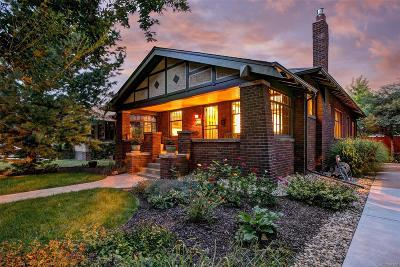 Denver Single Family Home Active: 946 Steele Street
