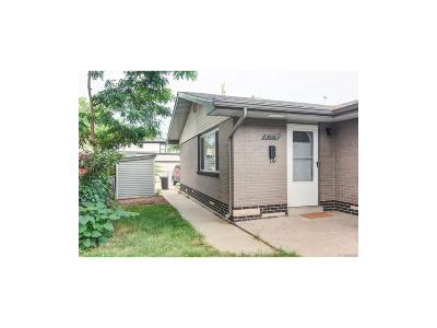 Denver Condo/Townhouse Active: 4015 Newton Street