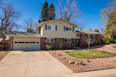 Denver Single Family Home Active: 2721 South Chase Way