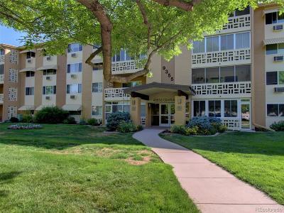 Denver Condo/Townhouse Active: 9355 East Center Avenue #4D