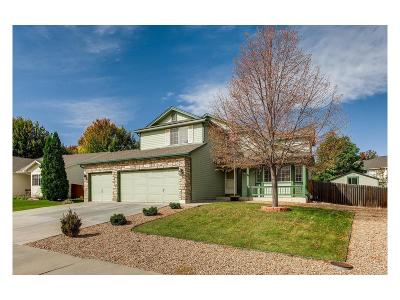 Longmont Single Family Home Under Contract: 1323 Sommerset Circle